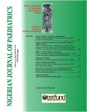 Nigerian J Paediatrics 2016 vol 43 issue 4